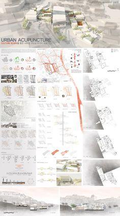 Myongji University School of Architecture Presentation Board Design, Presentation Styles, Architecture Presentation Board, Project Presentation, Architectural Presentation, Architectural Models, Architectural Drawings, Poster Architecture, Architecture Board