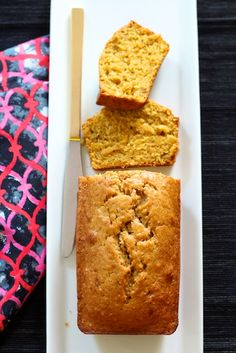 Pumpkin Banana Spice Bread