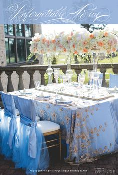 Love these chair covers for Chiffon Chairs