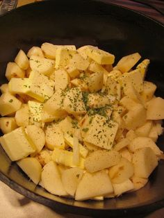 Dutch oven potatoes a little different than how we do it but a lot healthier