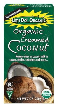 Let's Do Organic Creamed Coconut, Unsweetened