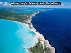 One of the planet's most beautiful locations…where the atlantic meets the Caribbean