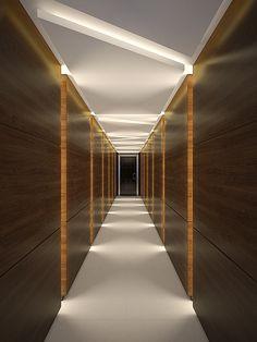 Павильон в поселке Миллениум Парк Corporate Interior Design, Modern Office Design, Corporate Interiors, Hotel Hallway, Hotel Corridor, House Ceiling Design, Bedroom False Ceiling Design, Corridor Design, Foyer Design
