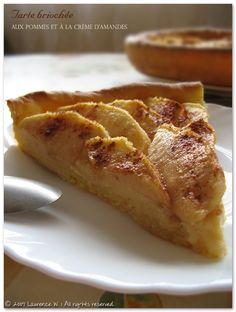 Trop Chou !Tarte briochée aux pommes et à la crème d'amandes | Trop Chou !