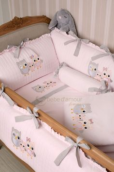 Site Bebe, Baby Nest Bed, Kids Bedding Sets, Baby Gadgets, Shabby Chic Curtains, Baby Sewing Projects, Cot Bedding, Baby Room Decor, Baby Crafts