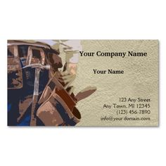 323 best carpenter business cards images on pinterest carpenter handyman tools watercolor business card flashek
