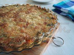 Σπανάκι au Gratin με Λαδοτύρι και Τραχανά! Lasagna, Ethnic Recipes, Drink, Food, Gratin, Beverage, Essen, Meals, Yemek