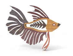 Deco Fish 3 by Lloydswoodtoyplans on Etsy