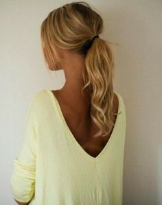 Spice up your ponytail with soft curls and stay stylish for your workout.