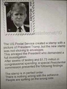 !!! For Trump supporters - This is a JOKE! Yet who knows, it might be true!?