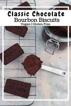 Chocolate Bourbon Biscuits (GF, VG) • naturallysweetlife