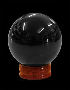 Black Crystal Ball 1.9 in