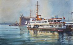 Istanbul Turkey, Art Gallery, Watercolor, Artist, Photography, Painting, Culture, Pen And Wash, Art Museum