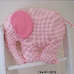 Выкройка слоника и мастер класс по пошиву / Мир игрушки / Тильда. Мастер классы, выкройки.