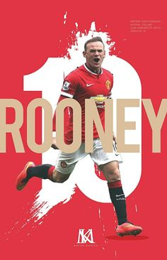 #ManchesterUnited (2004-2017) - #WayneRooney #10