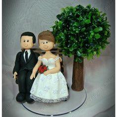 Topo de bolo #caketopper #topodebolo #topcake #coldporcelain #wedding #biscuit | Flickr – Compartilhamento de fotos!