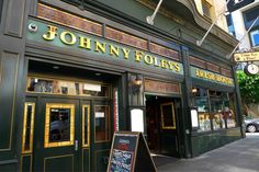 Johnny Foley's Irish House on O'Farrell in San Francisco, CA opened in 1998 replicating authentic elements of great pubs of Ireland. The name Johnny Foley came from a fictional character from Ireland who was also a writer, a tenor, an artist and a crowd leader often in trouble with the law.