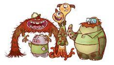 Universidade #Monstros #Animação