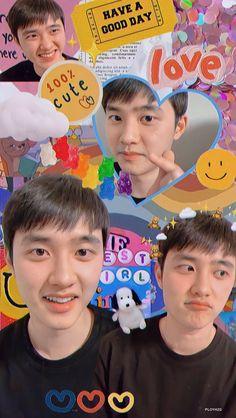 Kyungsoo, Exo Chanyeol, Exo Ot12, Chanbaek, Bts Poster, Cute Lockscreens, Exo Album, Exo Lockscreen, Picture Icon
