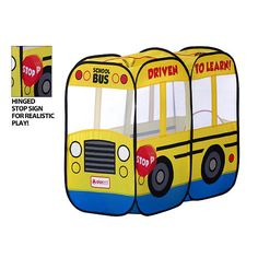 My First School Bus Play Tent
