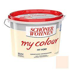 Schöner Wohnen Wand- und Deckenfarbe my colour (My Ivory, 10 l, Matt)