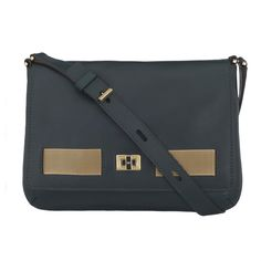 Dark Holly Butter Leather Prancer Clutch Butter Leather Clutch Anya Hindmarch Handbags
