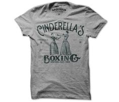 Cinderella's Boxing T-Shirt