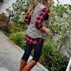 Plaid | T Shirt & Jeans Girl