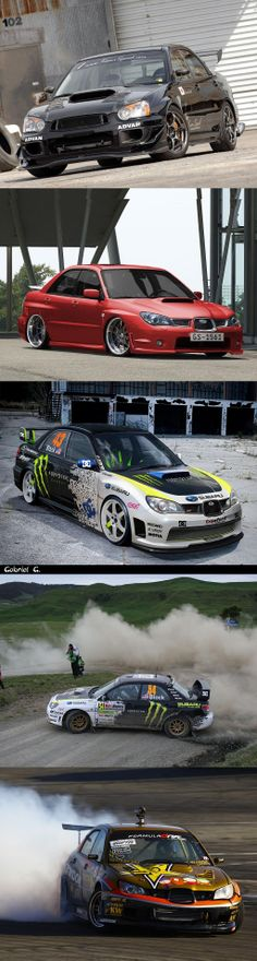 Subaru Impreza WRX STI Gorgeous no matter what it's doing