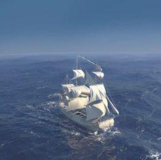 Realistic Ocean animation Test C4DR13 & BLENDER V1 on Vimeo