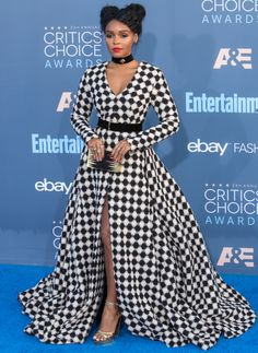 Janelle Monae ... this is so good! Could even be a high fashion Harley :)