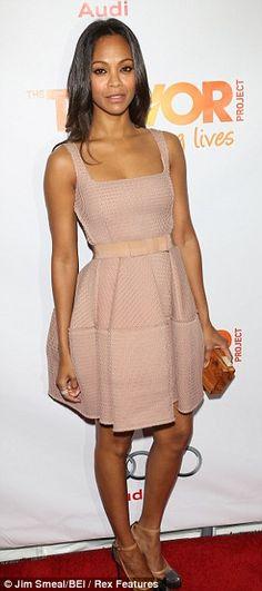 Zoe Saldana - GORGEOUS DRESS