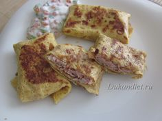 meat and cheese pancakes