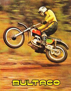 Bultaco MK6 Vintage Dirt Bike - Motocross Racer