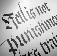 Igraphy Words Typography Letters Beautifuligraphy Letter I Gothic Lettering Hand