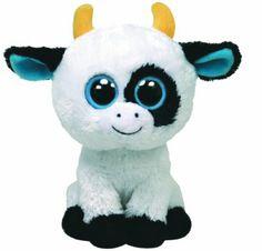 Amazon.com: Ty Beanie Boos Daisy The Cow: Toys & Games