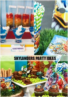 Skylanders Party Ideas