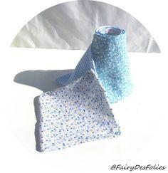 Essuie tout lavable bleu FAIRYDESFOLIES grande absorption