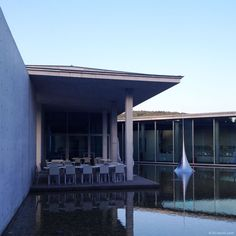 "Lili l'archi » Château La Coste Centre d'Art - Tadao Ando Sculpture ""Mathematical model"" - Hiroshi Sugimoto"