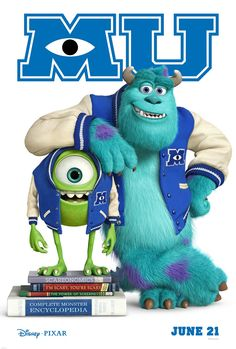 Monsters University- color me EXCITED