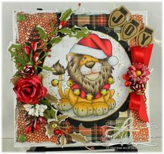 Whimsy Inspirations Blog: Jungle Bells One - Lion