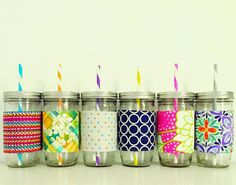 Put Up Your Dukes: End of the Year Teacher Gifts: DIY Mason Jar Koozie Sleeve Tutorial