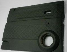 Landrover Defender custom door cards designed by staff at Ruskin Design www.ruskindesign.co.uk