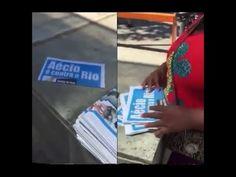Crime Eleitoral do PT no Rio de Janeiro Jornal apócrifos contra Aécio