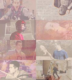 Dylan O'Brien as Stiles Stilinski #TeenWolf