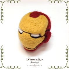 Wool Felting Ironman Daddy,   Happy Father's Day
