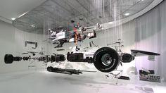 Mercedes explodes Michael Schumacher's F1 car