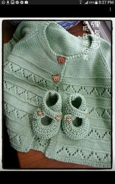 Embroidered Baby Vest Making - Knitting Baby Knitting Patterns, Baby Sweater Patterns, Baby Cardigan Knitting Pattern, Knit Baby Sweaters, Knitting For Kids, Baby Patterns, Free Knitting, Knitting Sweaters, Start Knitting