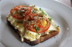 Clean Eating Recipe Box: Toasted Chicken, Brie and Tomato