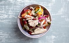 Packed with beans, tuna & veggies, this is the perfect packed lunch